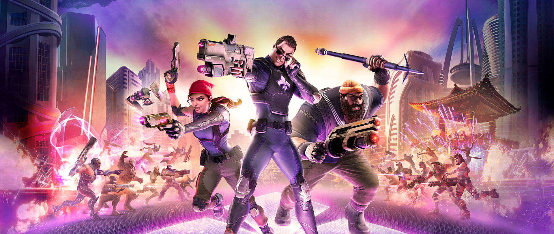 دانلود کرک CPY بازی Agents Of Mayhem