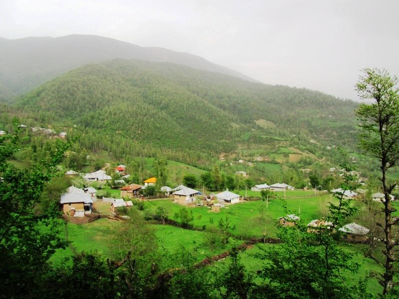 روستای استخرگاه رودبار گیلان