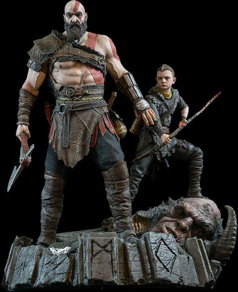 آیا مایل به خرید مجسمه کریتوس و آترئوس هستید؟ ؛ مجسمهای از جنس God Of Warhttp://www.gnsorena.ir/