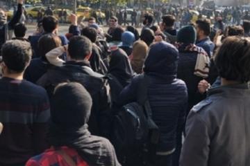 تظاهرات در ملایر