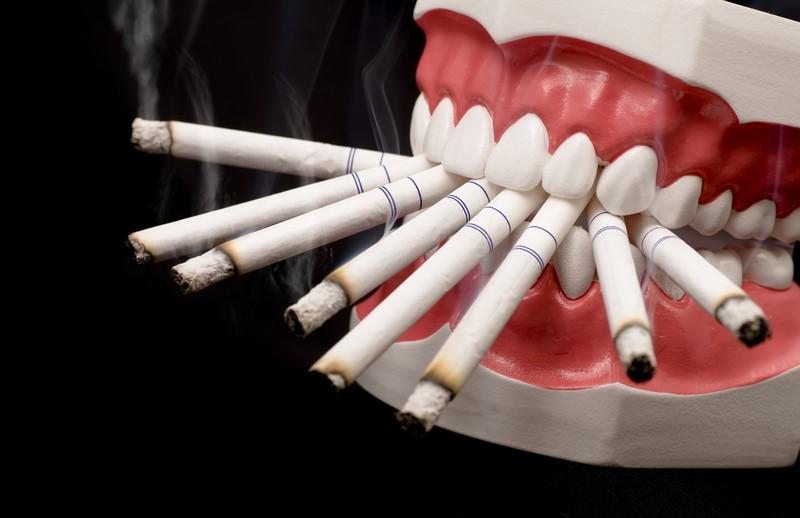 تاثیر سیگار بر بدن