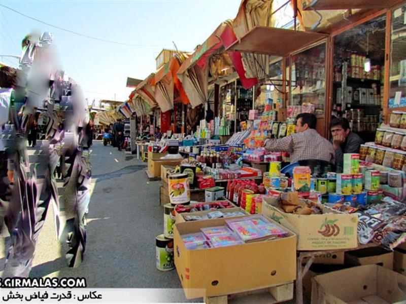 Bazarche Javanrood4 - بازارچه مرزی جوانرود