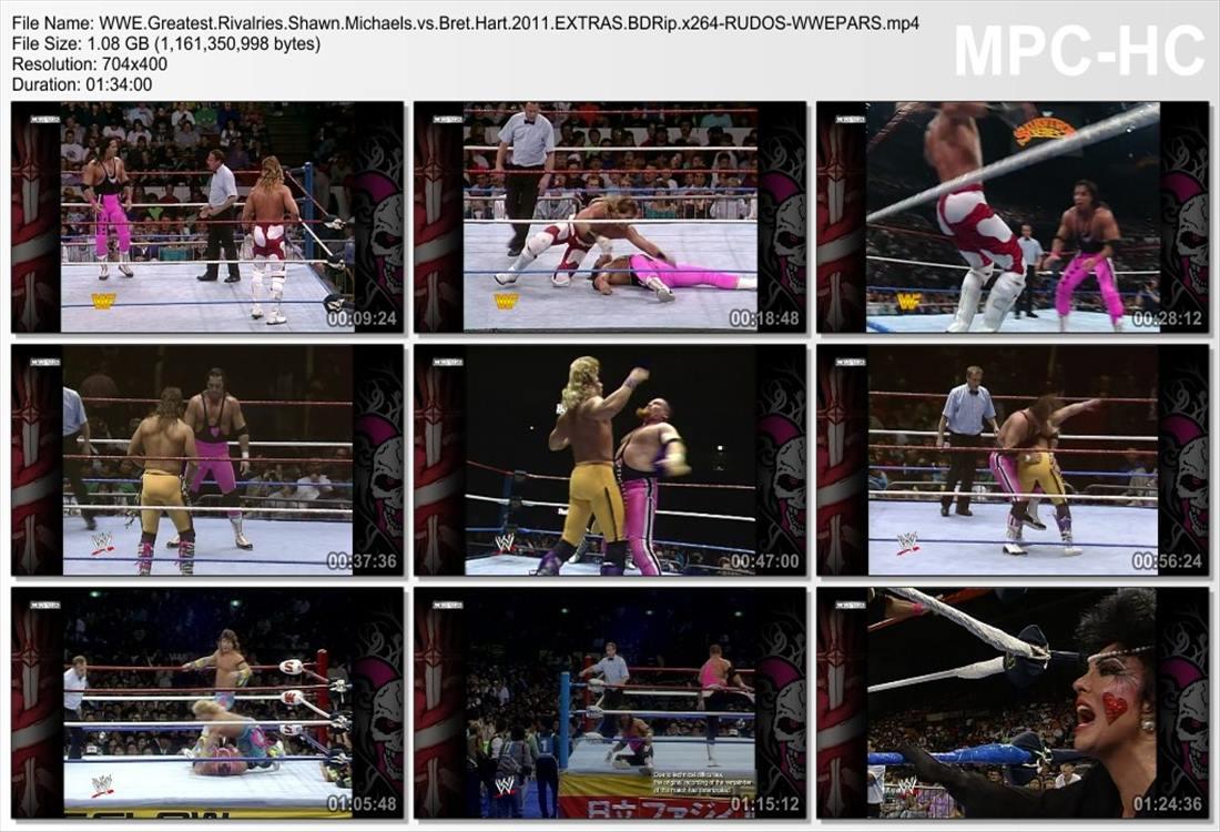 Greatest Rivalries Shawn.Michaels vs. Bret Hart