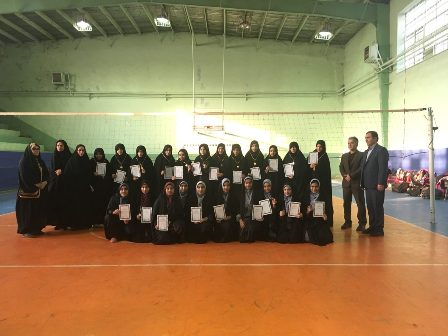 Refah Volleyball team