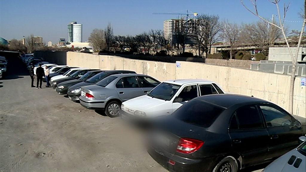 پارک خودرو در تبریز