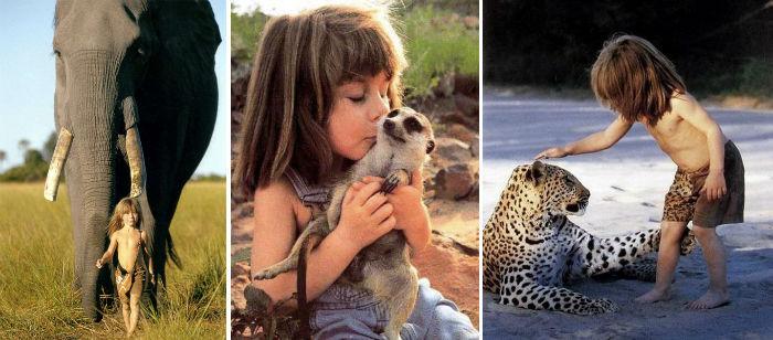 با ۱۰ کودک وحشی آشنا شوید که توسط حیوانات بزرگ شدند
