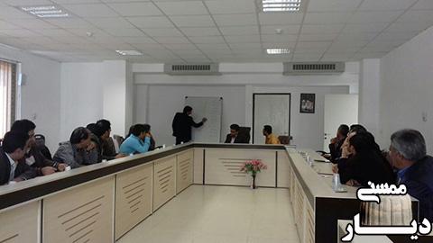 انتخابات شورای هماهنگی روابط عمومی ادارات شهرستان رستم