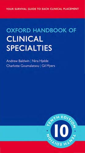Oxford Handbook of Clinical Specialties 10th