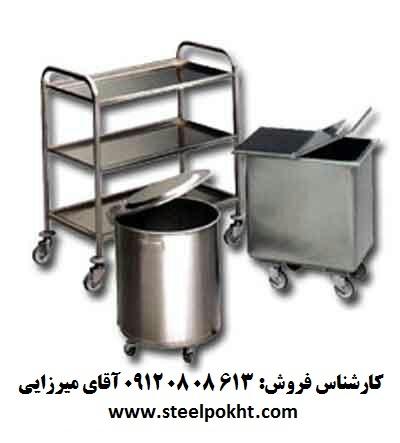 قيمت ترولي گرمخانه دار غذا