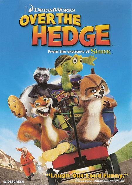 دانلود دوبله فارسی انیمیشن آن سوی پرچین Over The Hedge 2006