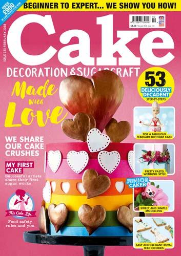 Cake Decoration and Sugarcraft February 2018