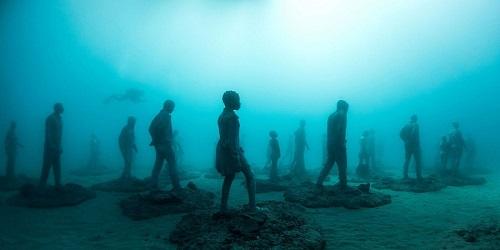 گشتی در میان شگفت انگیزترین مجسمههای آبی دنیا