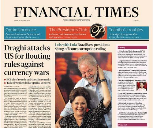 Financial Times Europe 26 January 2018