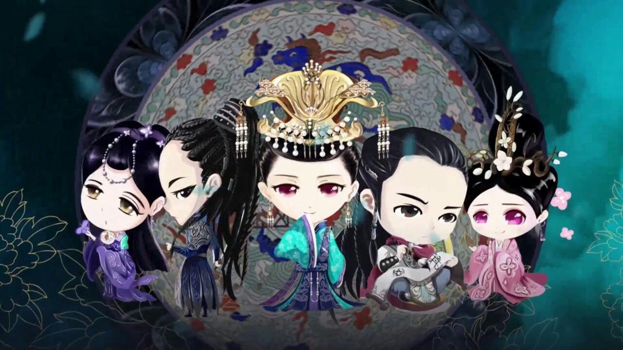 فن ارت سریال چینی پرنسس وی یونگ The Princess Weiyoung 2016