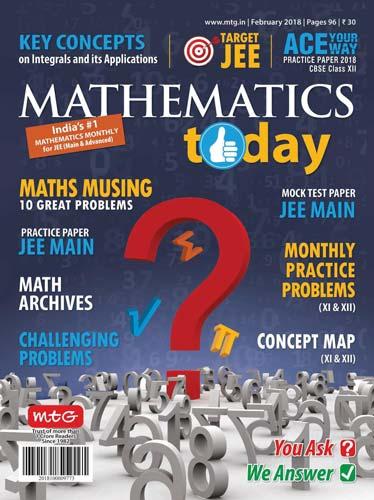Mathematics Today February 2018