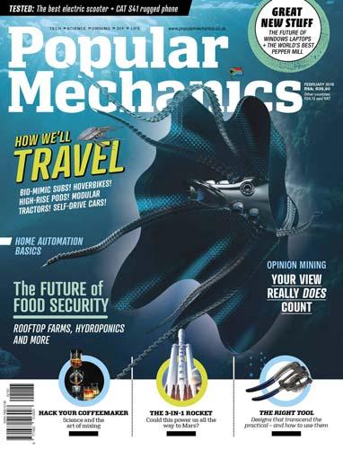 Popular Mechanics South Africa February 2018