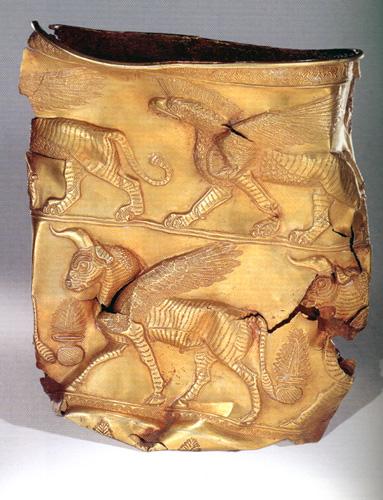 جام مارلیک در تپه های باستانی مارلیک شهرستان رودبار