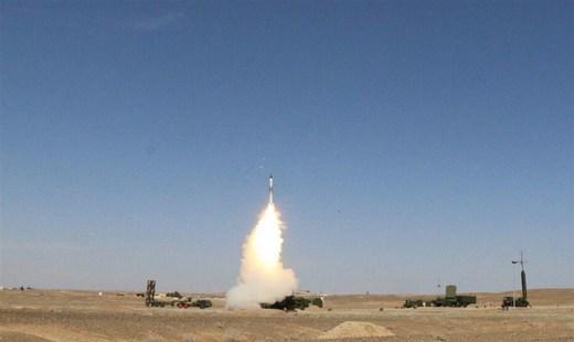 گزارش| عملیات مشترک موشکهای پدافندی ارتش و سپاه علیه پرندههای دشمن