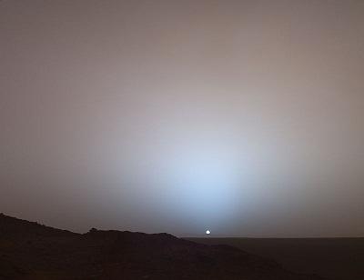 طلوع خورشید از مریخ