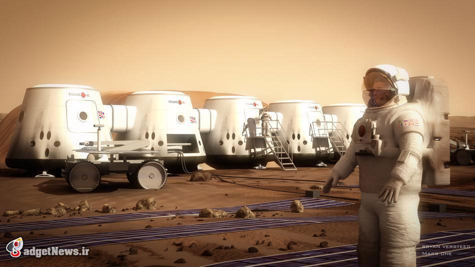 کمپ اسکان در مریخ