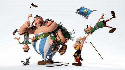 Asterix and Obelix Mansion of the Gods 2014