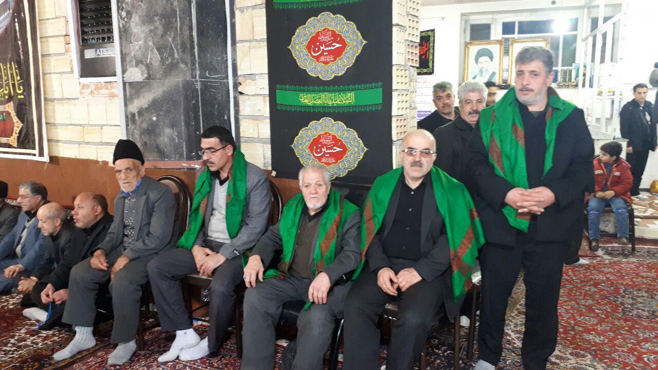 مراسم عزاداری ایام فاطمیه با سخنرانی حجت الاسلام والمسلمین دکتر مجتبی نظری در مسجد حضرت ولی عصر قاضی جهان برگزار شد