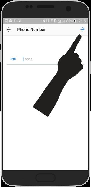 آموزش تصویری حذف و تعغیر شماره از اینستاگرام