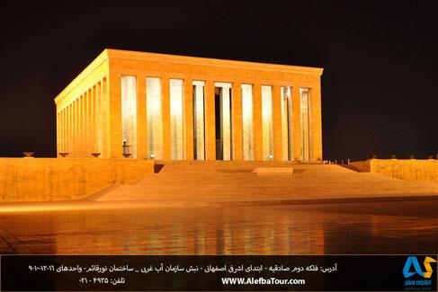 مقبره آتاترك در شهر آنكارا