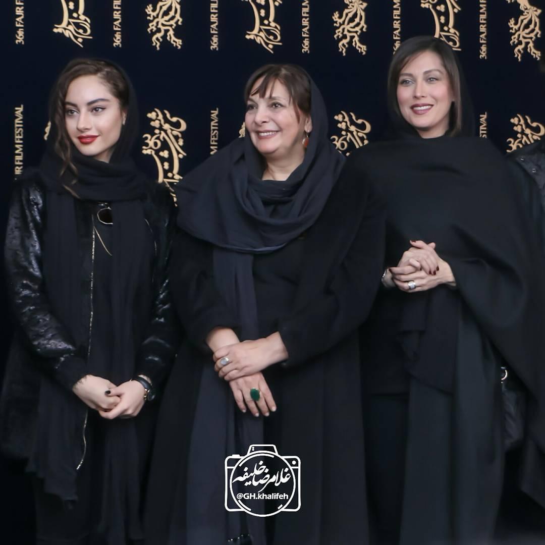 عکس های بازیگران در 36 جشنواره فیلم فجر