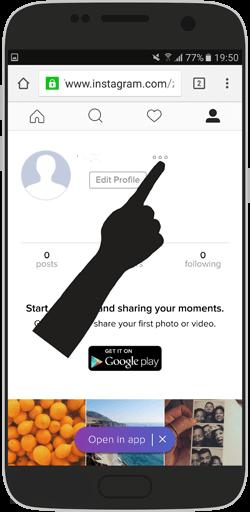 آموزش تصویری خروج از سایت Instagram اینستاگرام – نسخه ی وبسایت
