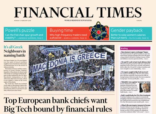 Financial Times Europe 05 February 2018