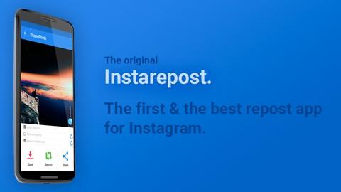 دانلود برنامه اشتراک عکس دیگران اینستاگرام InstaRepost