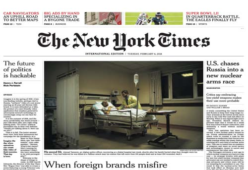 The New York Times International Edition 06 February 2018