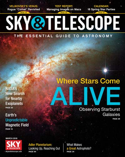Sky and Telescope March 2018
