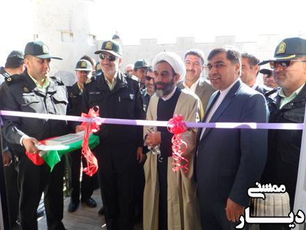 افتتاح ساختمان جدید پاسگاه انتظامی فهلیان