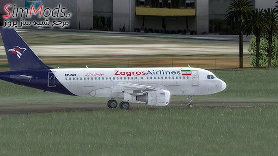 بازنقش زاگرس AS A319