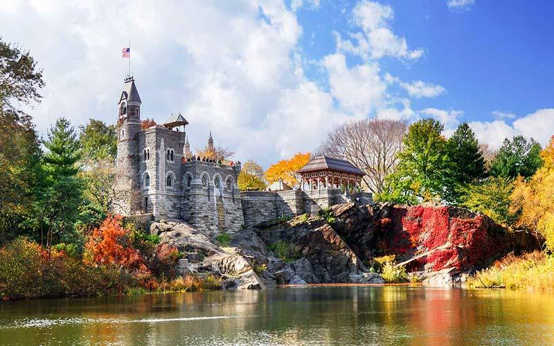 سنترال پارک در نیویورک؛ آمریکا