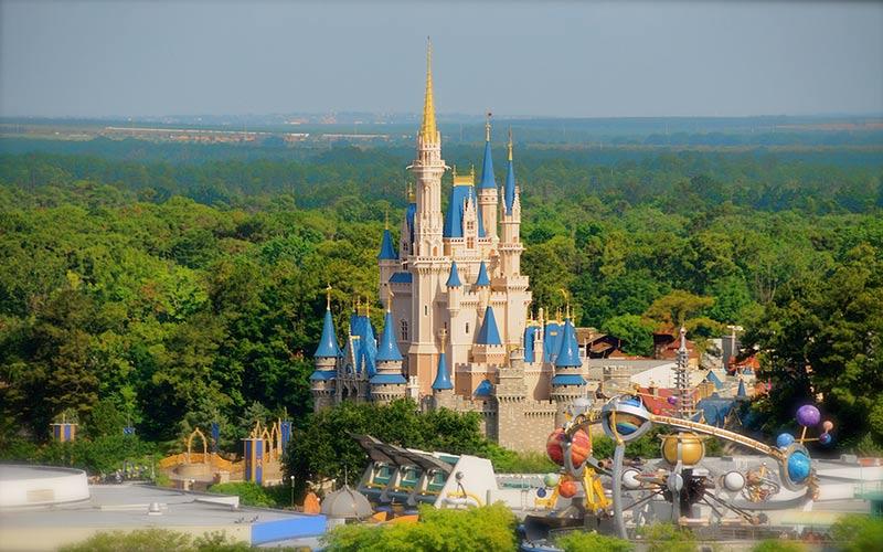 شهر بازی والت دیزنی در فلوریدا؛ آمریکا