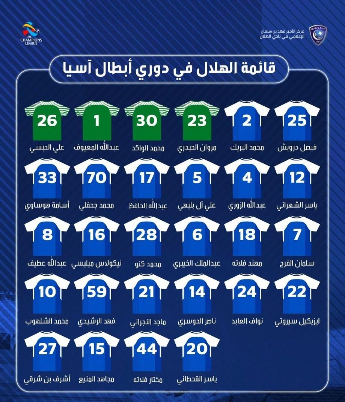 زمان (ساعت و تاریخ) بازی استقلال و الهلال عربستان لیگ آسیا 2018