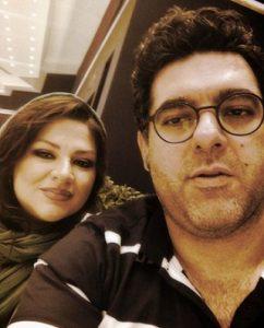 عاطفه فلاحی   تصاویر و بیوگرافی عاطفه فلاحی و همسرش مصطفی کیایی