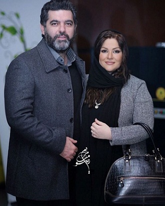عاطفه فلاحی | تصاویر و بیوگرافی عاطفه فلاحی و همسرش مصطفی کیایی