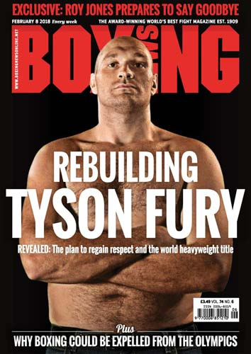 Boxing News 08 February 2018