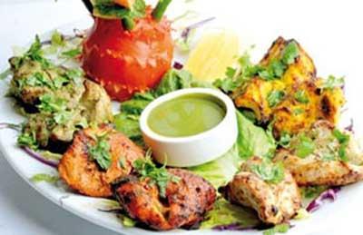 پاری کباب غذای هندی