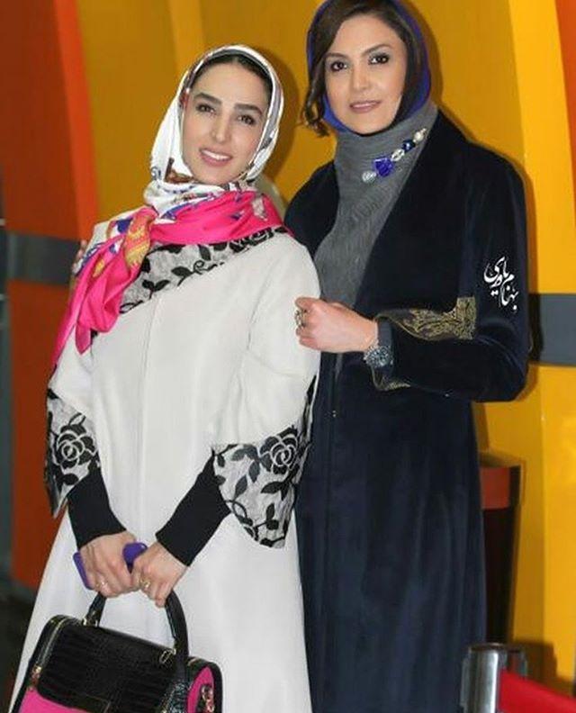 سامیه لک و سوگل طهماسبی در 36 جشنواره فیلم فجر