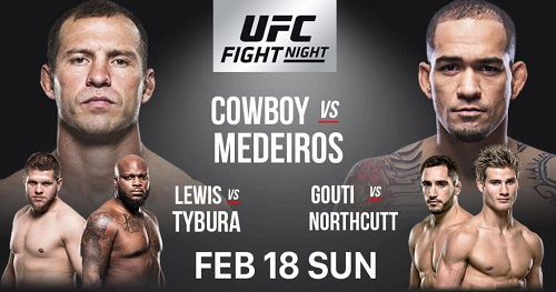 معرفی رویداد UFC Fight Night 126: Cowboy vs. Medeiros