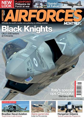 Airforces Monthly January 2018