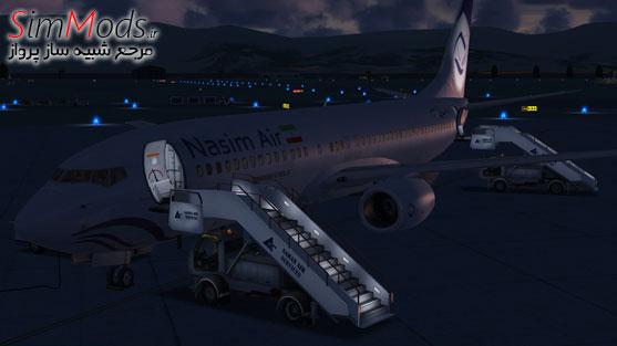 بازنقش نسیم PMDG 737