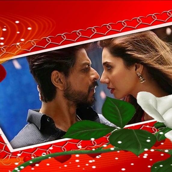 پوستر عاشقانه از فیلم رییس شاهرخ خان آهنگ هلکا هلکا رییس با آسیه دوست داشتنی