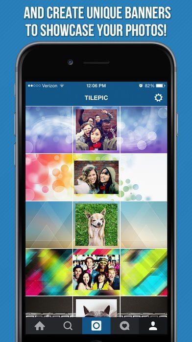 اپلیکیشن Tile Pic