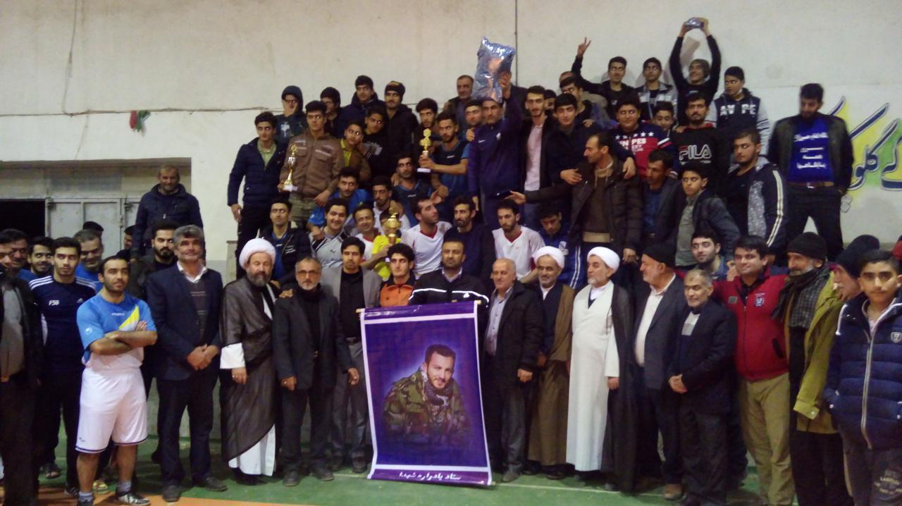 گزارش تصویری از فینال فوتسال جام شهید مدافع حرم محمد معافی